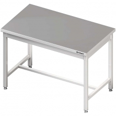 Stół roboczy nierdzewny składany centralny<br />model: 980087110<br />producent: Stalgast