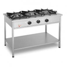 Kuchnia gastronomiczna gazowa 3-palnikowa | EGAZ KG-139<br />model: KG-139<br />producent: Egaz