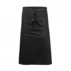 Zapaska kelnerska midi czarna<br />model: 634021<br />producent: Nino Cucino