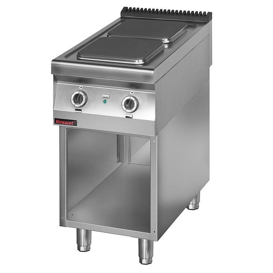 Kuchnia gastronomiczna elektryczna 2 płytowa 900 KE 2 -> Kuchnia Elektryczna Gastronomiczna Używana