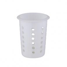 Kubek na sztućce biały<br />model: 815010<br />producent: Stalgast
