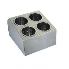 Pojemnik na sztućce 4-częściowy<br />model: 815400<br />producent: Stalgast