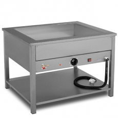 Bemar elektryczny wolnostojący 4xGN1/1 (1-komorowy) | EGAZ BE-4W<br />model: BE-4 W<br />producent: Egaz