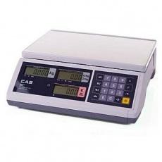 Waga elektroniczna kalkulacyjna<br />model: CAS ER Junior 15B<br />producent: Cas