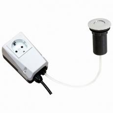 Włącznik pneumatyczny do rozdrabniacza odpadów<br />model: 650090<br />producent: Stalgast