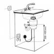 Włącznik pneumatyczny do rozdrabniacza odpadów 650090