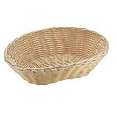 Koszyczek na pieczywo z polirarattanu owalny<br />model: 426500<br />producent: Hendi