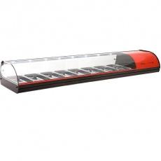 Witryna ekspozycyjna chłodnicza 8xGN1/3<br />model: V8N/R/B/A/E<br />producent: Sayl