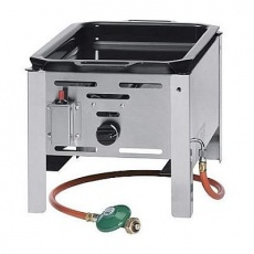 Patelnia gazowa Grill Master MINI<br />model: 154601<br />producent: Hendi