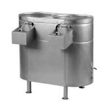 Obieraczka do ziemniaków 2-komorowa nierdzewna<br />model: OZ15Nx2<br />producent: Spomasz