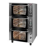 Piekarnik elektryczny z termoobiegiem 3-komorowy | KROMET 000.PE-3/T<br />model: 000.PE-3/T<br />producent: Kromet