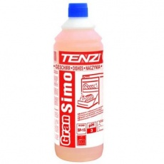 Płyn do płukania naczyń w zmywarkach gastronomicznych GranSimo<br />model: SP15/005<br />producent: Tenzi