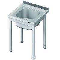 Stół ze zlewem nierdzewny składany<br />model: 980626060<br />producent: Stalgast