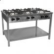 Kuchnia gastronomiczna gazowa 6-palnikowa TG-632.III