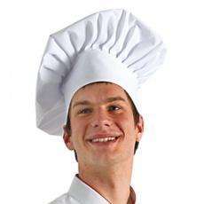 Czapka kucharska budyniówka<br />model: 630601<br />producent: Nino Cucino