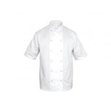 Bluza kucharska CHEF unisex biała (krótki rękaw)<br />model: 634075<br />producent: Nino Cucino