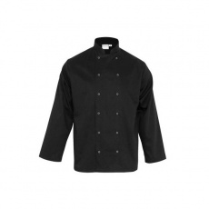 Bluza kucharska CHEF unisex czarna<br />model: 634065<br />producent: Stalgast